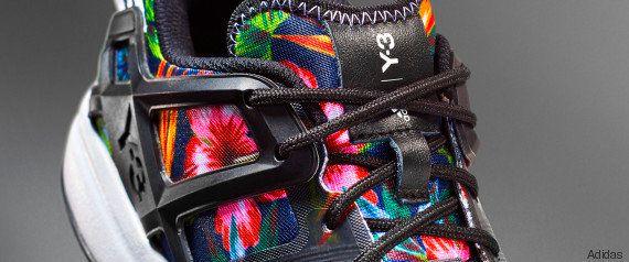 Pour Adidas, Tsonga portera des baskets fleuries Y3 à Roland Garros. Et cette arrivée du luxe sur la...
