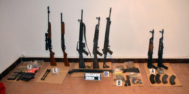 Trafic d'armes international : 45 interpellations dans une vaste