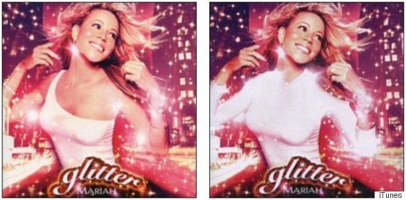 PHOTOS. Lady Gaga, Madonna, Katy Perry... Les pochettes d'albums avant et après la censure au