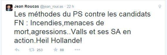 Marine Le Pen soutient Jean Roucas après son parallèle entre François Hollande et