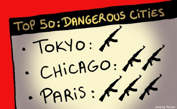 PHOTOS. Le classement des 10 villes les plus sûres du