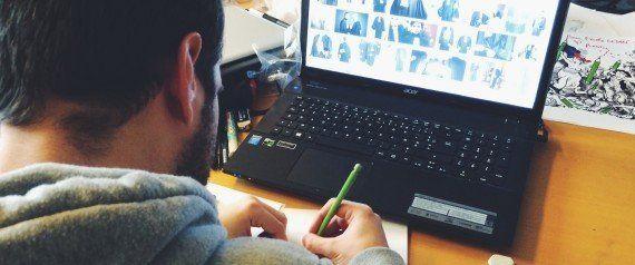 Angoulême 2015 au HuffPost avec le Cesan: dessiner c'est