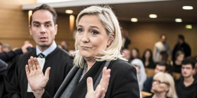 Marine Le Pen relaxée après avoir comparé les prières de rue à