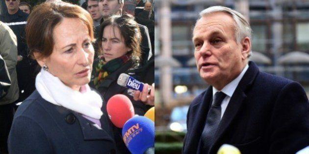 Ségolène Royal et Jean-Marc Ayrault font front commun contre le recours au 49-3 pour voter la loi sur...