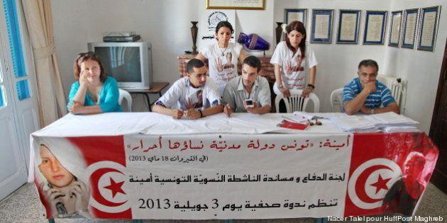 Amina, la Femen tunisienne,