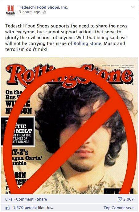 Boston : la couverture de Rolling Stone choque les États-Unis, le magazine est