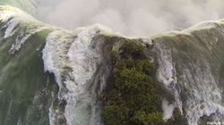 VIDEO. Les chutes du Niagara, comme vous ne les avez jamais