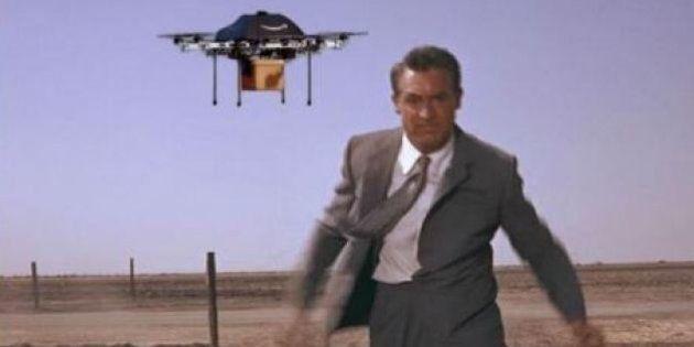 Les drones d'Amazon vus par