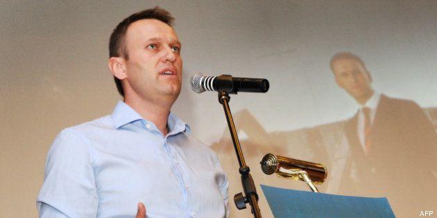 Alexeï Navalny, opposant numéro un à Vladimir Poutine, condamné à cinq ans de camp en