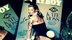 La couverture du Playboy avec Kate Moss