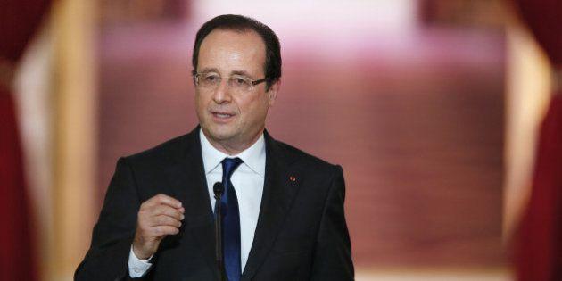 François Hollande au JT de TF1 pour une interview sur la Syrie, l'emploi, les impôts et les