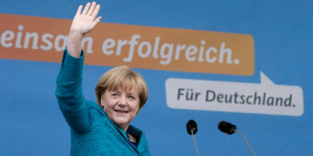Élections législatives en Allemagne: Angela Merkel remporte une victoire cruciale en