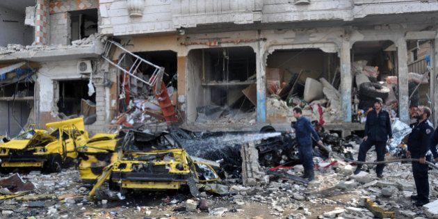 Les attentats les plus sanglants depuis 2011 frappent la Syrie avec 160 morts près de Damas et à