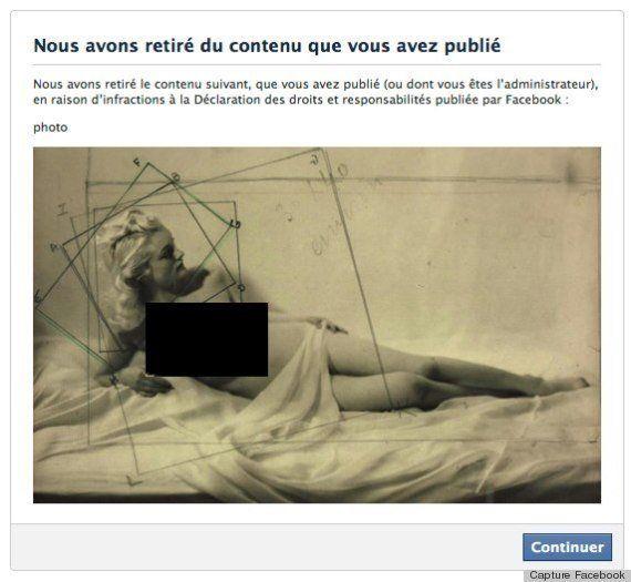 Le musée du Jeu de Paume censuré par Facebook pour une photo de