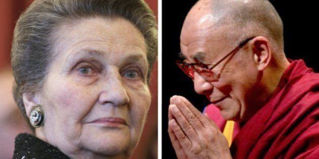 Simone Veil et le dalaï-lama en tête des personnalités les plus admirées en