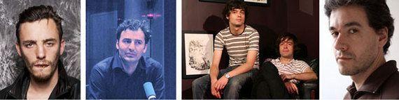 Le visage des 4 artistes en lice pour le Prix Marcel Duchamp