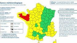 Inondations : Morbihan et Finistère en vigilance rouge