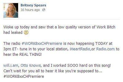 VIDÉO. Britney Spears dévoile son nouveau single