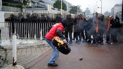 Goodyear: 19 policiers blessés lors d'un rassemblement de salariés, une
