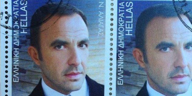 En Grèce, Nikos Aliagas a un timbre à son
