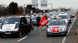 Les taxis manifestent à nouveau contre les