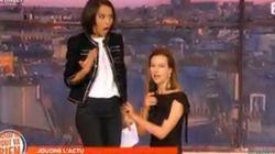 VIDEO - Sophia Aram a eu chaud face à Carole