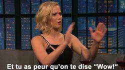 Avant une scène de sexe avec Chris Pratt, Jennifer Lawrence a fait