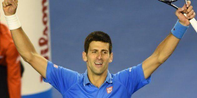 Open d'Australie: Novak Djokovic bat Andy Murray en finale et remporte le tournoi pour la 5e fois, un...