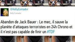 Jack Bauer abandonne, Twitter ne rate pas