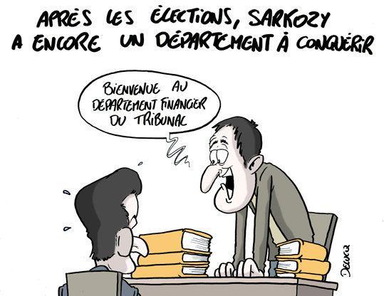 Sarkozy: encore un département à