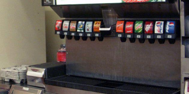 Les fontaines à sodas en libre service bientôt interdites en
