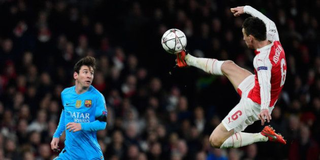 VIDÉOS. Le résumé et les buts de Arsenal-Barcelone en huitièmes de finale aller de la Ligue des