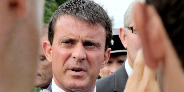 Bijoutier de Nice : Manuel Valls
