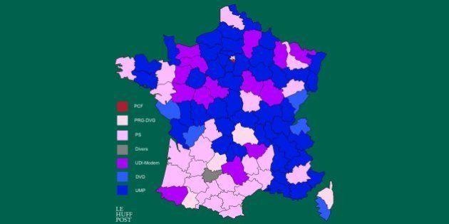 Elections départementales 2015: qui sont les présidents des conseils