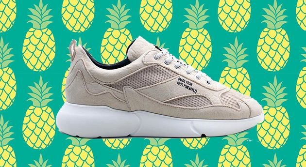 3e5135c51cf These Vegan Trainers Are Made From Pineapple Leaves