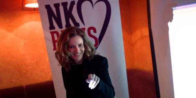 Municipales: NKM tient son premier meeting à Paris avec peut-être Nicolas