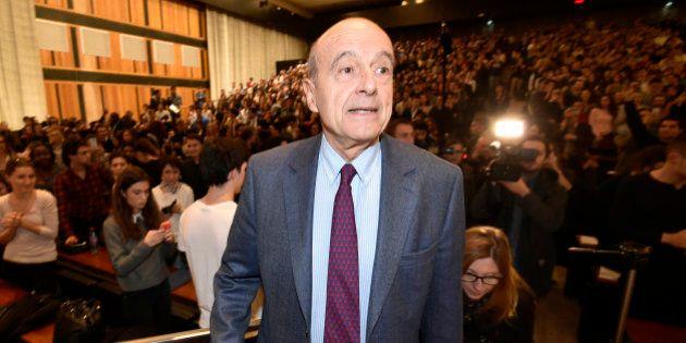 VIDÉO. Alain Juppé évoque Paul Bismuth en parlant de Nicolas Sarkozy devant des