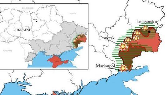 Guerre en Ukraine: quelle situation dans l'Est après un an de