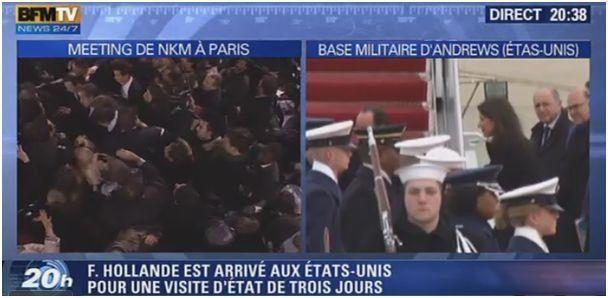 Hollande et Sarkozy : le télescopage des deux présidents entre les États-Unis et