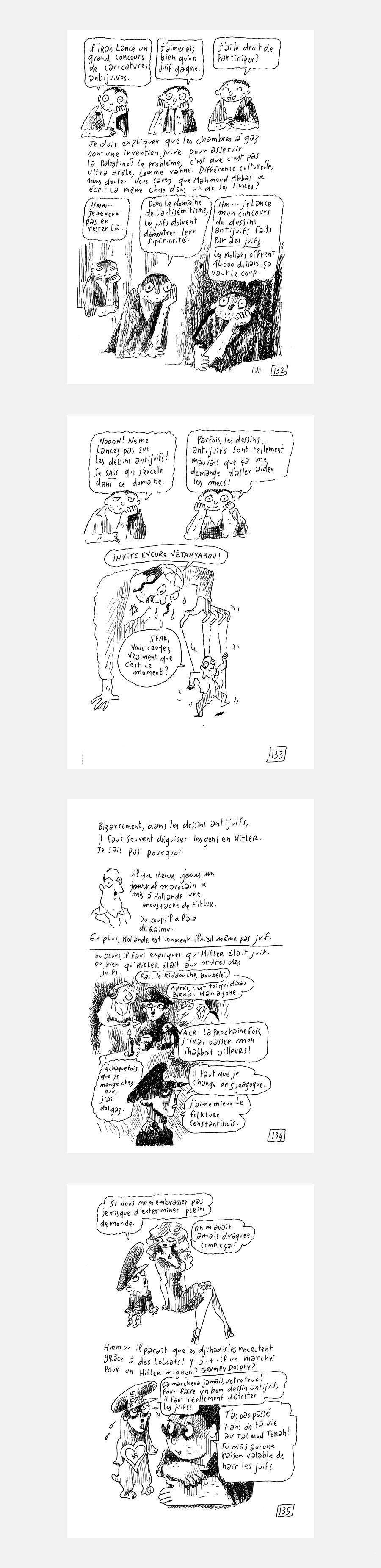 Concours de caricatures antijuives en Iran: je peux