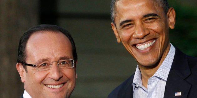 Hollande à Washington : le président célèbre le lien qui unit la France et les Etats-Unis, deux pays...
