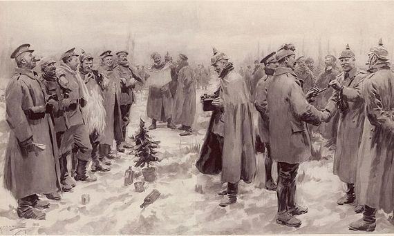 Il y a 100 ans, les soldats ennemis de 14-18