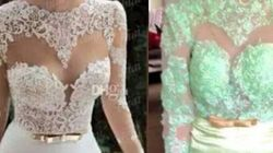 15 robes de mariages commandées sur internet qui n'ont rien à voir avec