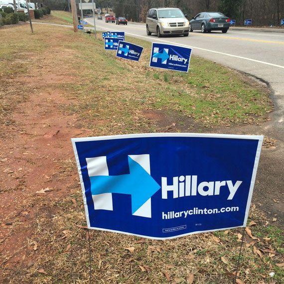 La campagne au plus près des gens d'Hillary Clinton, vue par ma fille de 6