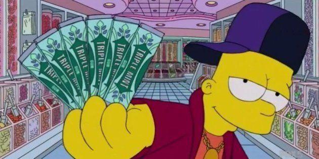 VIDÉO. Quand Bart Simpson parodie le clip de Drake