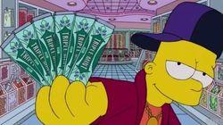 Quand Bart Simpson parodie le clip de