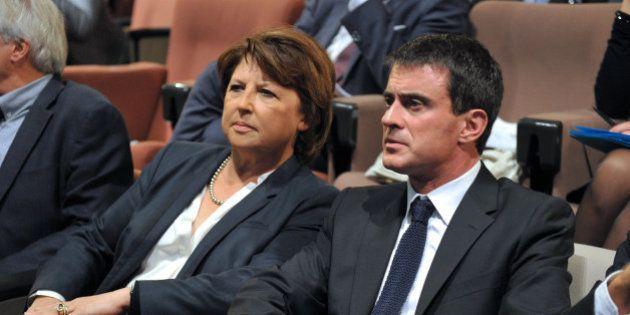 Manuel Valls répond à Martine Aubry sur la loi El Khomri: