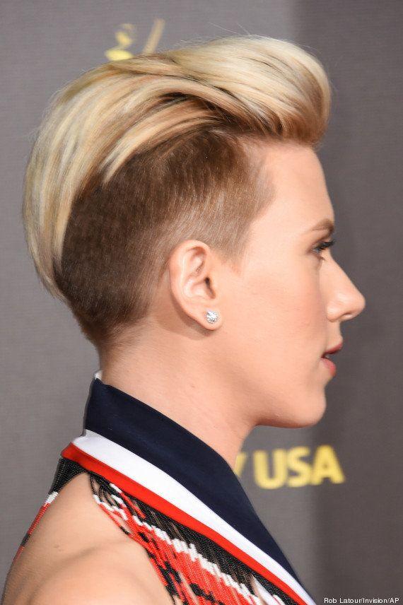 PHOTOS. Scarlett Johansson montre sa nouvelle coupe de cheveux
