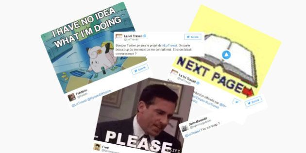 Pour défendre sa loi travail, le gouvernement lance un compte Twitter dédié (et se fait massivement