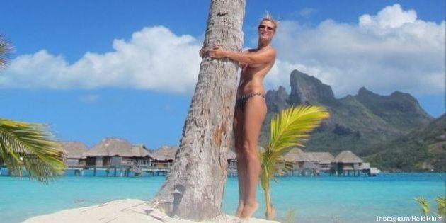 PHOTOS. Heidi Klum n'en finit plus de poser